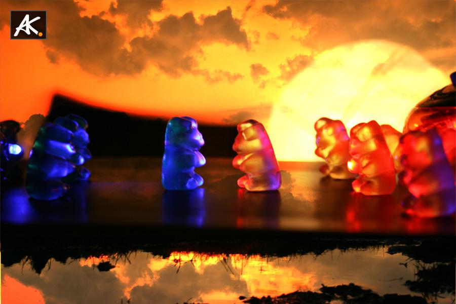 gelatin bear Battle